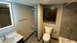 Th3 609 Studio Apartments bathroom