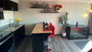 Available Units - Greeley Studio Apartments The 609 Studio Apartments - kitchen