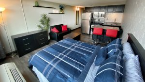 The 609 Studio Apartments sky rise apartment