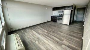 The 609 Studio Apartment unfurnished