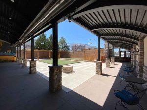 The 609 studios patio